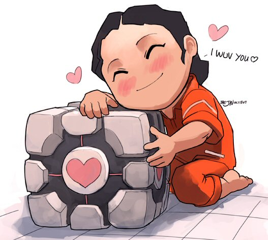 IMAGE(http://distractionware.com/blog/images/nov07/Weighted_Companion_Cube_by_saejinoh.jpg)